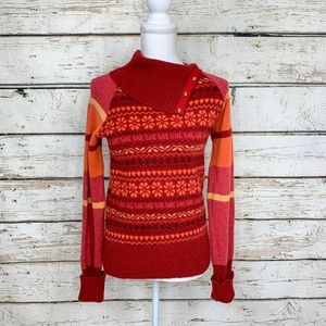 Med Vintage Wool Fisherman Out Of Ireland Sweater
